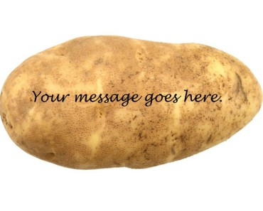 Potato message