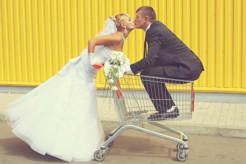 supermarket wedding