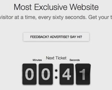 Most Exclusive Website